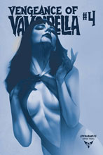 Image: Vengeance of Vampirella #4 (incentive 1:40 cover - Oliver Tint) - Dynamite