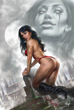 Image: Vengeance of Vampirella #4 (variant cover - Parrillo virgin) - Dynamite