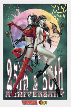 Image: Billy Tucci Exclusive Shi / Vampirella Lithograph  (signed) - Dynamite