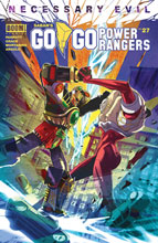 Image: Go Go Power Rangers #27 (cover A - Carlini) - Boom! Studios