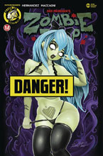 Image: Zombie Tramp #68 (cover D - McComb risque) - Action Lab - Danger Zone