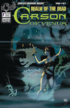 Image: Carson of Venus: Realm of Dead #1 (cover B - Wolfer) - American Mythology Productions