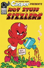 Image: Capser Spotlight: Hotstuff Sizzlers #1 (cover B - Retro) - American Mythology Productions