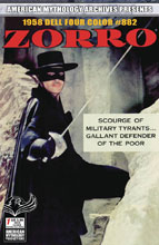 Image: AM Archives: Zorro 1958 Dell Four Color #882 - American Mythology Productions