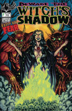 Image: Beware Witch's Shadow: Happy New Fear #1 (cover A - Calzada) - American Mythology Productions