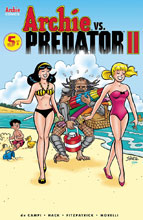 Image: Archie vs. Predator 2 #5 (cover E - Shultz) - Archie Comic Publications