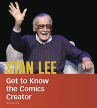 Image: Stan Lee: Get to Know Comics Creator SC  - Capstone Publishing