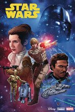 Image: Star Wars #1 (DFE signed - Soule) - Dynamic Forces