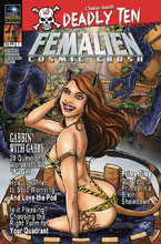 Image: Deadly Ten Presents: Femalien Cosmic Crush  (cover B - Fowler) - Full Moon Features