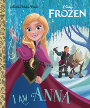 Image: I Am Anna Little Golden Book  - Golden Books