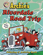 Image: Archie's Rverdale Road Trip Activity Book  - Little Bee Books