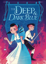 Image: Deep & Dark Blue GN  - Little Brown Book For Young Re
