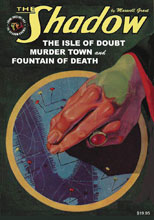 Image: Shadow #148: The Isle of Doubt, Murder Town & Fountain of Death SC  - Sanctum Productions
