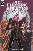 Image: Electric Black #4 (cover A - Rich Woodall) - Scout Comics