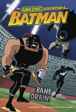 Image: Amazing Adventures of Batman: Bane Drain SC  - Stone Arch Books
