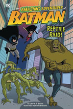 Image: Amazing Adventures of Batman: Reptile Raid SC  - Stone Arch Books