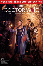 Image: Doctor Who: The 13th Doctor Season Two #1 (cover B - Photo) - Titan Comics