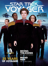 Image: Star Trek: Voyager 25th Anniversary Special  (newstand cover) - Titan Comics