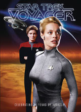 Image: Star Trek: Voyager - 25th Anniversary Special  (Previews exclusive cover) - Titan Comics