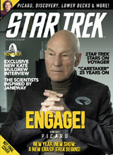 Image: Star Trek Magazine #74 (newstand cover) - Titan Comics