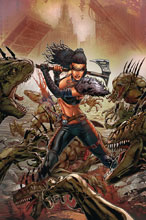 Image: Monster Planet #4 (cover D - Vitorino) - Zenescope Entertainment Inc