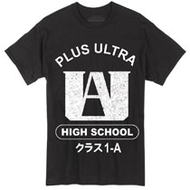 Image: My Hero Academia T-Shirt: Plus Ultra Black  (M) - Great Eastern Entertainment