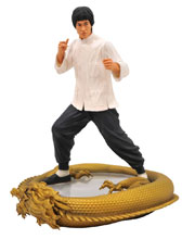 Image: Bruce Lee Premier Collection 80th Anniversary Statue  - Diamond Select Toys LLC