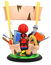 Image: Marvel Animated Statue: Deadpool Merc for Hire  - Diamond Select Toys LLC