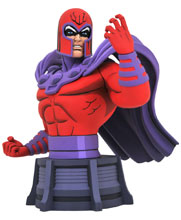 Image: Marvel Animated Bust: Magneto  - Diamond Select Toys LLC