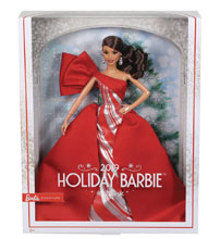 Image: Barbie 2019 Holiday Collection Doll Case  (Latin American version) - Mattel Toys