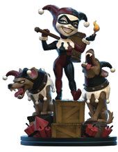 Image: DC Heroes Q-Fig Remastered Diorama Figure: Harley Quinn  - Quantum Mechanix Inc