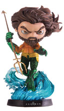 Image: Mini Co. Heroes DC Cinematic Vinyl Statue: Aquaman  - Iron Studios
