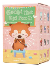 Image: Pop Mart Goobi the Kid Fox 12-Piece Blind Mystery Box Display  - Pop Mart