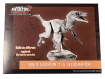 Image: Beasts of Mesozoic Raptor Series Build-A-Raptor Action Figure: Set A  (1/6 scale) - Creative Beast Studio LLC