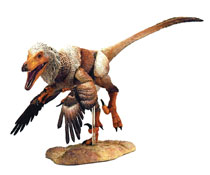 Image: Beasts of Mesozoic Raptor Series Action Figure: Tsaagan  (1/6 scale) - Creative Beast Studio LLC