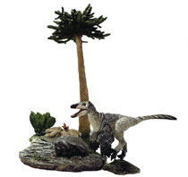 Image: Beasts of Mesozoic Raptor Series Set: Mountain Troodon  - Creative Beast Studio LLC