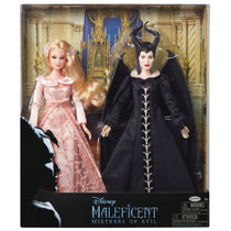 Image: Disney Maleficent 2 Fashion Doll 2-Pack Case  - Jakks Pacific