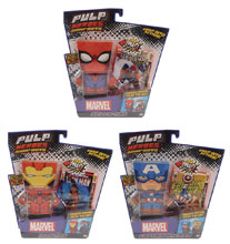 Image: Marvel Pulp Heroes 6-Piece Assortment  - Far Out Toys(Hk) Co Ltd
