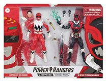 Image: Power Rangers Lightning  (6-inch) Is Psycho/Lg Red Rangers 2-Pack Case - Hasbro Toy Group