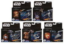 Image: Hot Wheels Star Wars Commemorative Series Die-Cast Vehicle Assortment  - Mattel Toys