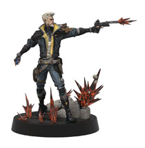 Image: Borderlands 3 Figures of Fandom PVC Statue: Zane  - Weta Workshop Ltd