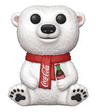 Image: Pop! Ad Icons Vinyl Figure: Coca-Cola Polar Bear  - Funko
