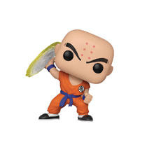 Image: Pop! Animation Vinyl Figure: Dragonball Z - Krillin  (w/Destructo Disc) - Funko
