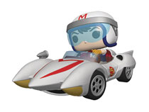 Image: Pop! Rides Speed Racer Vinyl Figure: Speed  (w/Mach 5) - Funko