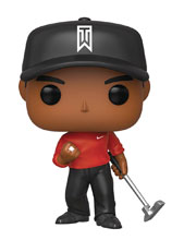 Image: Pop! Golf Vinyl Figure: Tiger Woods  (Red Shirt) - Funko