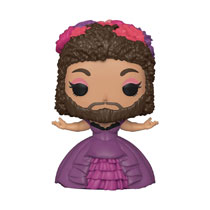 Image: Pop! Movies Vinyl Figure: Greatest Showman - Bearded Lady  - Funko