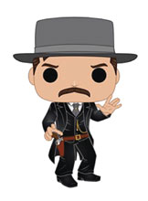 Image: Pop! Movies Vinyl Figure: Tombstone - Morgan Earp  - Funko