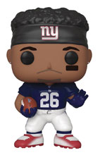 Image: Pop! NFL Legends Vinyl Figure: Giants - Saquon Barkley  - Funko