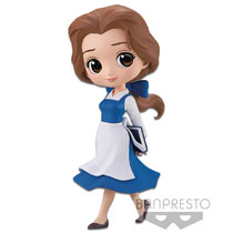 Image: Disney Q-Posket Figure: Belle  (Country Style) - Banpresto