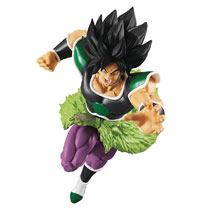 Image: Dragon Ball Styling Super Saiyan Figure: Broly Rage Mode  - Bandai Shokugan